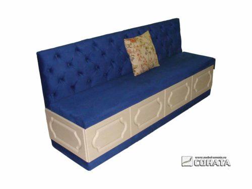 диван для кухни с отсеком для хранения